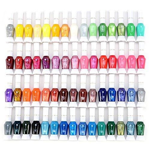 60 farben nail polish glitter nagellack fine liner 12ml xl nagelstudio set - 60 Farben Nail Polish Glitter Nagellack Fine-Liner 12ml XL Nagelstudio Set