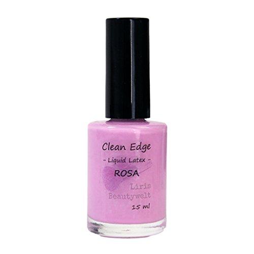 liris beautywelt clean edge liquid latex rosa - Liris Beautywelt Clean Edge Liquid Latex, rosa